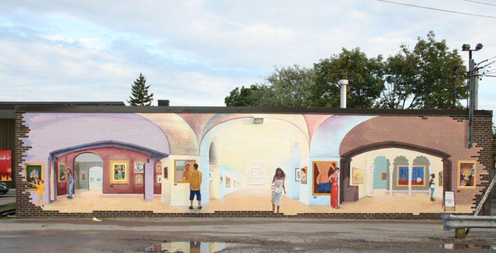 520 Brimley Road mural Scarborough